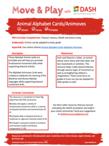 Alphabet Activity Cards image