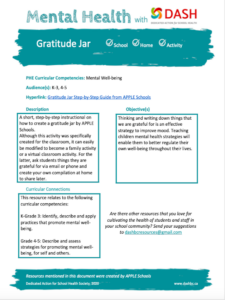 Gratitude Jar image