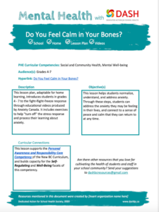Calm in Your Bones image