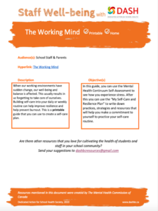 The Working Mind image