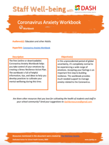 Coronavirus Anxiety Workbook image