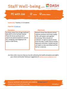 PE with Joe image