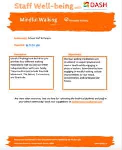 Mindful Walking image