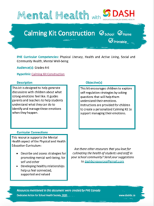 Calming Kit Construction image