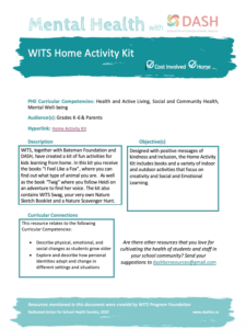 WITS Home Activity Kit image