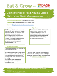 Online Storybook Read Aloud & Lesson Plans image