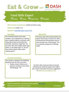 Food Skills Expert image