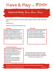 Dance at Home image