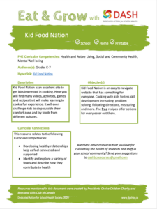 Kid Food Nation image