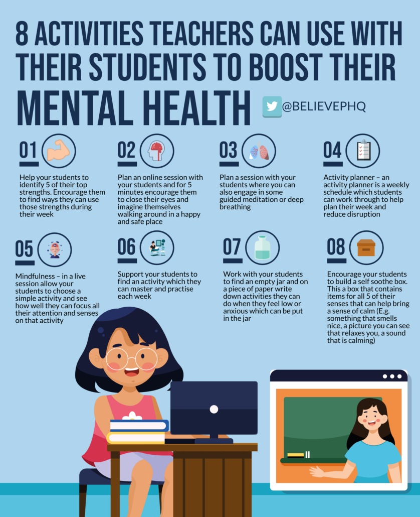 8 Activities Teachers Can Use With Their Students To Boost Their Mental Health image
