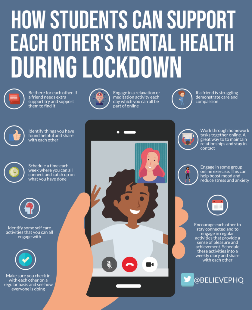 How Students Can Support Each Other's Mental Health During Lockdown image