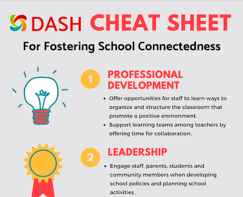 Cheat Sheet for Fostering School Connectedness image