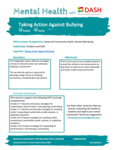 Taking Action Against Bullying image