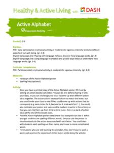 Active Alphabet image