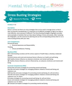 Stress Busting Strategies image